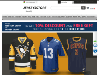 wholesalejerseysstore.ru screenshot