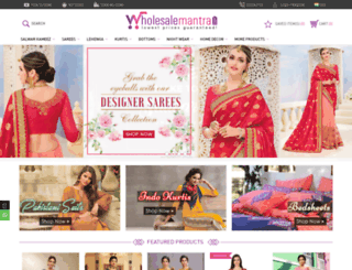 wholesalemantra.com screenshot