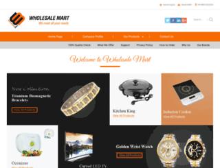 wholesalemart.tradeindia.com screenshot