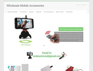 wholesalemobileaccessories.in screenshot