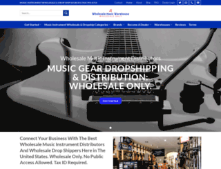wholesalemusicclub.com screenshot