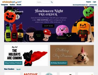 wholesalepet.com screenshot