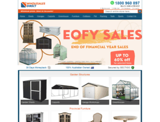 wholesalesdirect.com.au screenshot