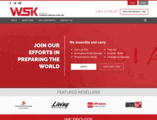 wholesalesurvivalkits.com screenshot