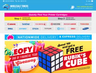 wholesaletoner.com.au screenshot