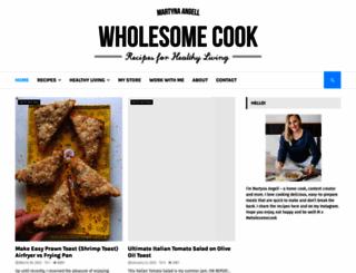 wholesome-cook.com screenshot