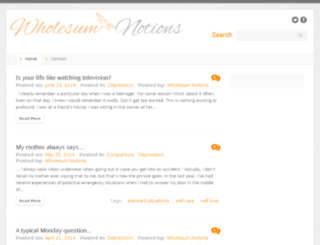 wholesumnotions.com screenshot