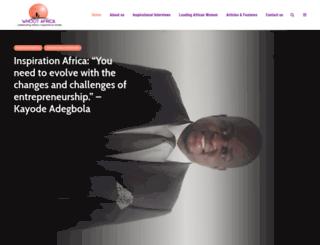 whootafrica.com screenshot