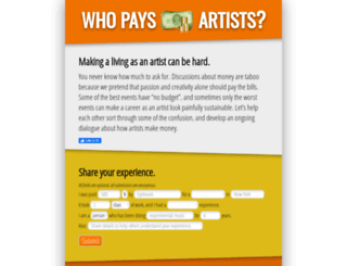 whopaysartists.com screenshot