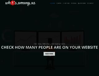 whosamungus.com screenshot