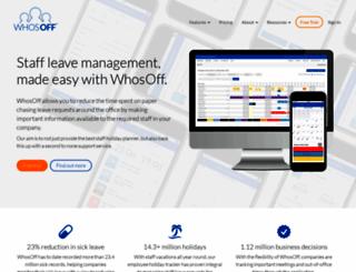 whosoff.com screenshot