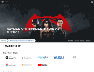 whowillwingame.batmanvsuperman.com screenshot