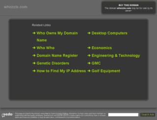 whozzle.com screenshot