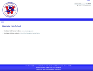 whs2.eanesisd.net screenshot