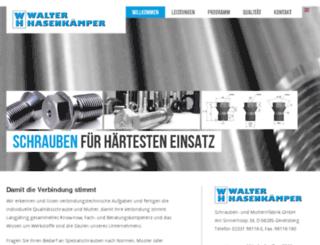 whschrauben.manoftaste.de screenshot