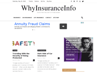 why-insurance.info screenshot