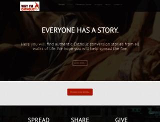whyimcatholic.com screenshot
