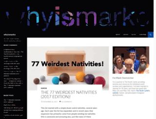 whyismarko.com screenshot