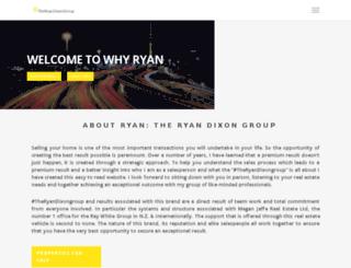 whyryan.co.nz screenshot