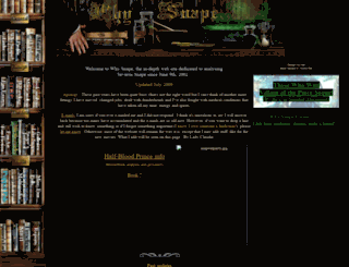 whysnape.tripod.com screenshot