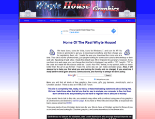 whytehouse.com screenshot