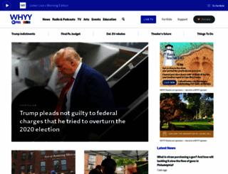 whyy.org screenshot