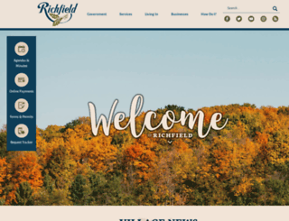 wi-richfield.civicplus.com screenshot