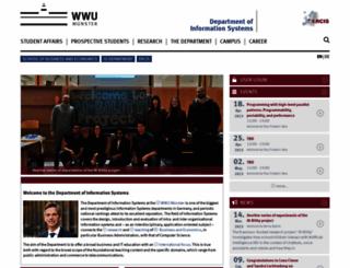wi.uni-muenster.de screenshot