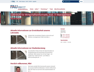 wi3.uni-erlangen.de screenshot