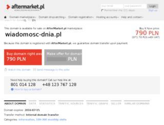 wiadomosc-dnia.pl screenshot