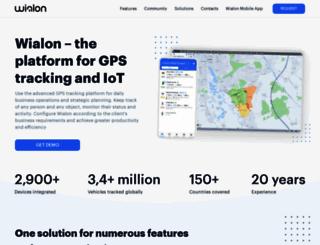 wialon.com screenshot