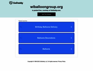 wiballoongroup.org screenshot