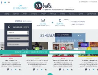 wibulle.fr screenshot