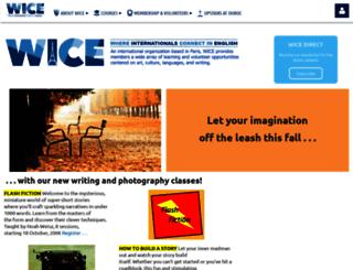 wice-paris.org screenshot