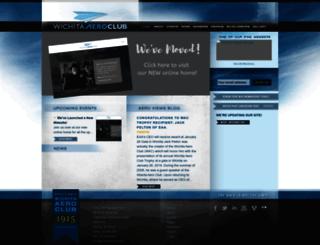 wichitaaeroclub.org screenshot