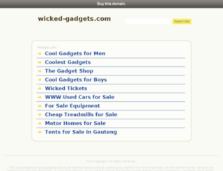 wicked-gadgets.com screenshot
