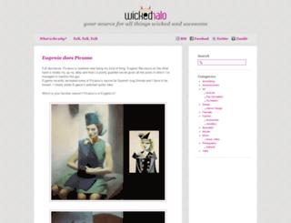wicked-halo.com screenshot