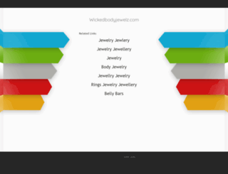 wickedbodyjewelz.com screenshot