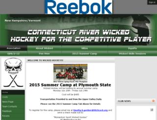wickedhockey.net screenshot