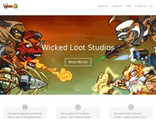 wickedloot.com screenshot
