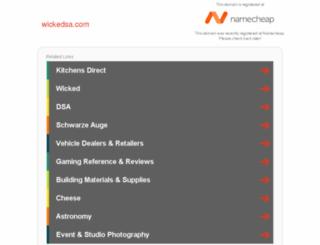 wickedsa.com screenshot