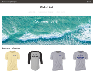 wickedsurf.com screenshot