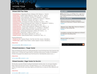 wickedtour.net screenshot