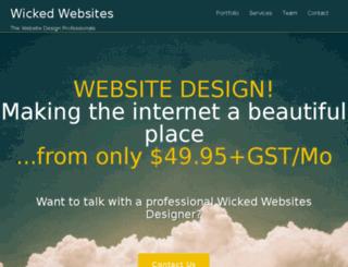 wickedwebsites.co.nz screenshot