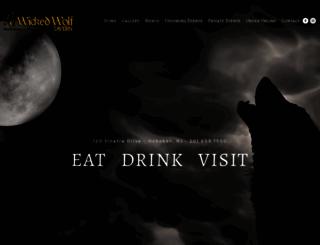 wickedwolfhoboken.com screenshot