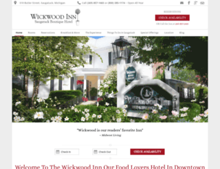 wickwoodinn.com screenshot
