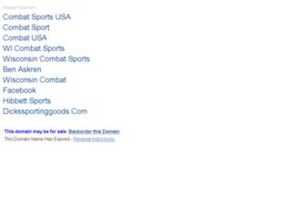 wicombatsports.com screenshot
