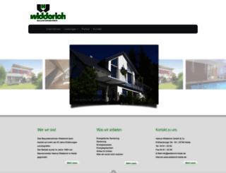 widderich-heide.de screenshot