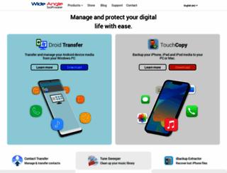 wideanglesoftware.com screenshot