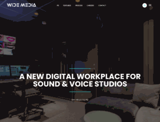 widemedia.com screenshot